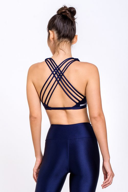 Top Fitness Disciplina-Blue Navy