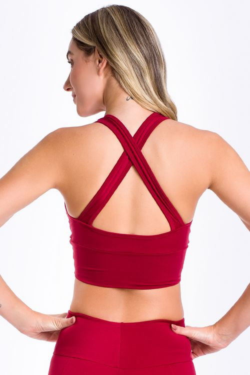 Top Fitness Ressurgir-Hot Red/Silk Xxx Rs Neon